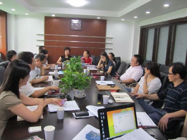 Changyuan Held a seminar on the development plan of lifting machinery export base.jpg