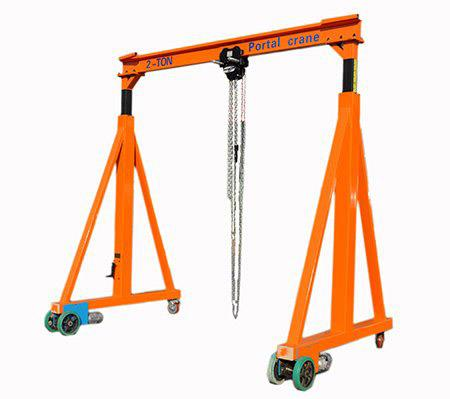 Free Rotating Manual Electric Light Duty Gantry Portal Crane.jpg