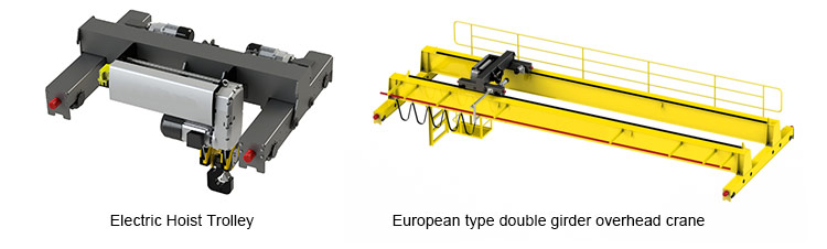 China European Standard Double Girder Overhead Crane