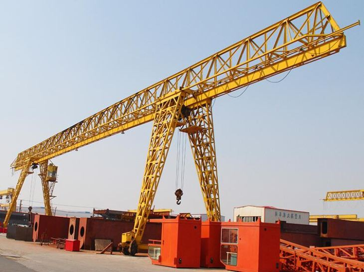 10 Ton Trussed Single Girder Portal Gantry Crane