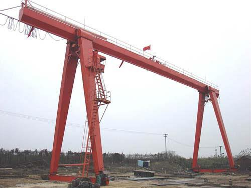 20 TON Electric Hoist Type Single Beam Gantry Crane