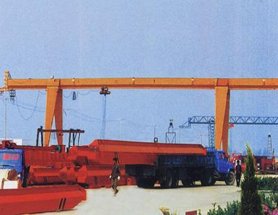 Box Type Single Girder Electric Hoist Gantry Crane