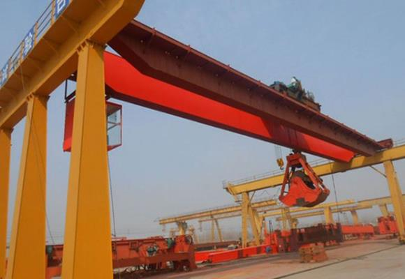 Double Girder Overhead Crane with Grab