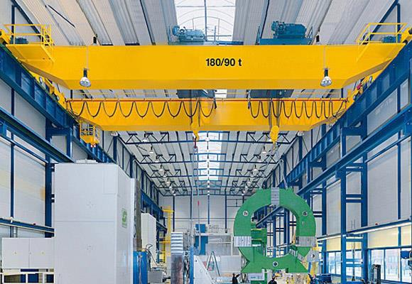 China European Standard Double Girder Overhead Crane
