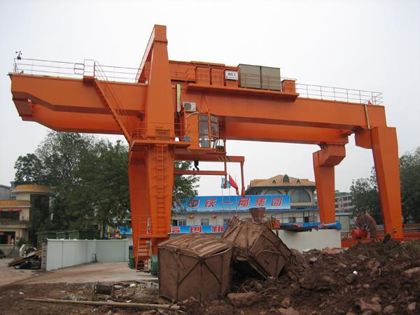 Heavy Lift Crane, Double Beam Gantry Crane 30 Ton