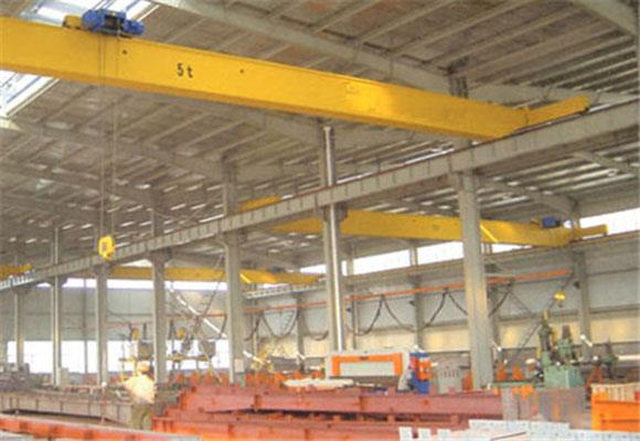 Low Headroom Single Girder Bridge Crane