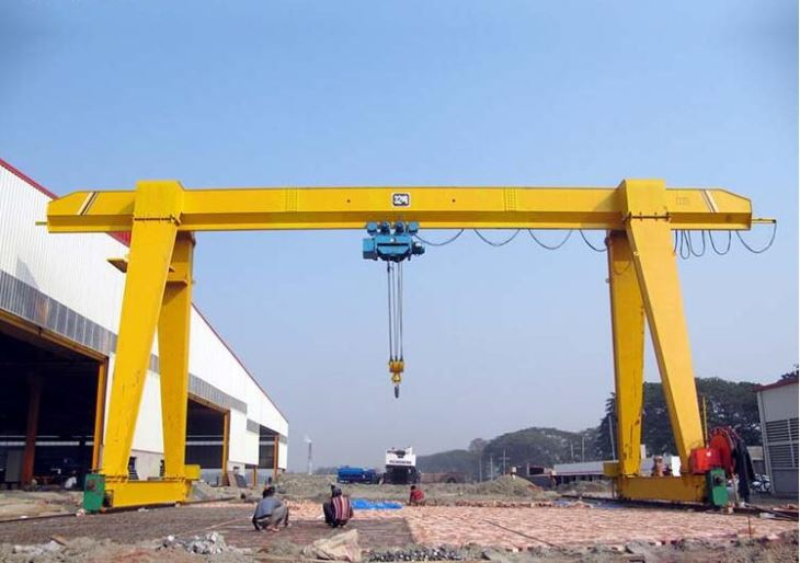 MH Type Single Girder 5 Ton Mobile Gantry Crane