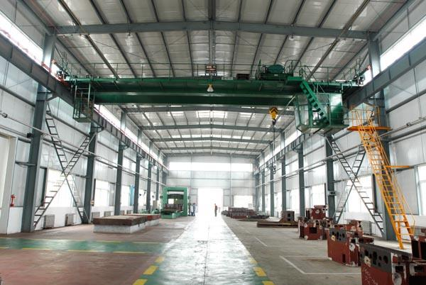 QD Electric Double Beam Bridge Crane 10 Ton