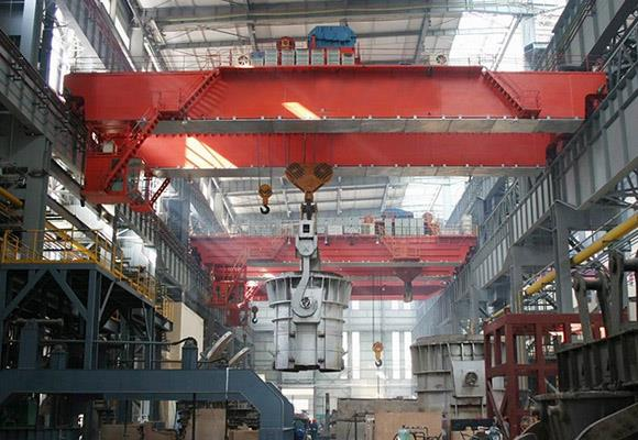 QDY Type Double Girder Hook Casting Crane