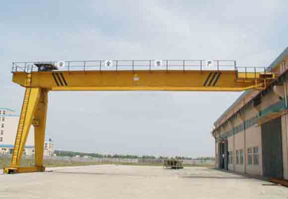 Semi Double Girder Gantry Crane