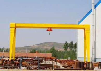 10 TON Electric Hoist Type Single Beam Gantry Crane