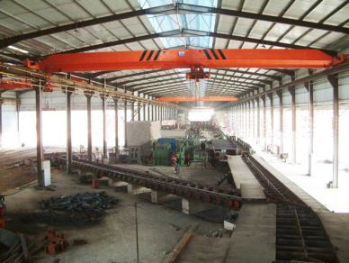 10 Ton Electric Single Girder Overhead Bridge Cranes With Best Limt Switch