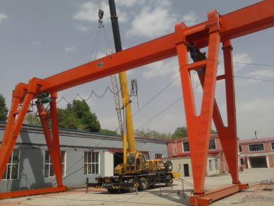 20 T Single Girder Workshop Gantry Crane