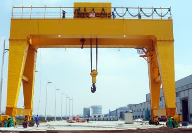 A-Shaped Double Girder Gantry Crane
