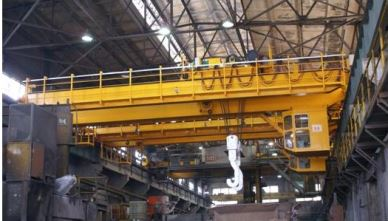 Cast Steel Heavy Duty Bridge Crane 50 Ton