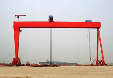 Double Girder Gantry Crane for Shipbuilding