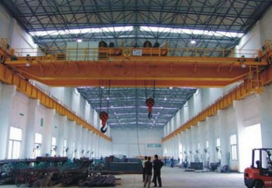 Double Girder Overhead Crane with Double Trolley