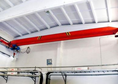 Electric Hoist Overhead Bridge Crane 2 Tons
