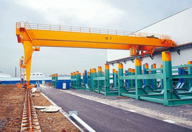 European Semi Gantry Crane