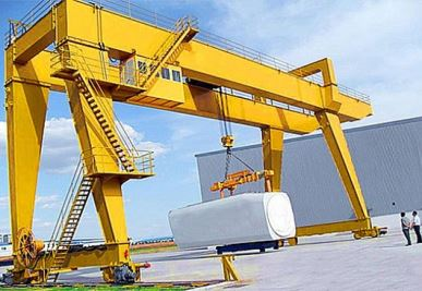 European Standard Double Girder Gantry Crane