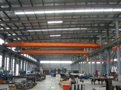 High Speed Single Girder Overhead High Up Crane