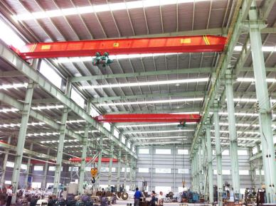 Indoor Lifting 20 Ton 10 Ton Single-Beam Overhead Crane
