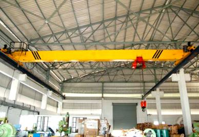 LDA 5 Ton Single Girder Overhead Crane For Sale