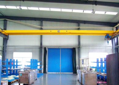 LDA Electric Single Girder 1-20T Bridge Crane