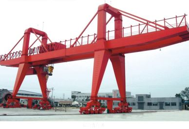 MG Double Girder Gantry Crane 40 Ton For Heavy Lift