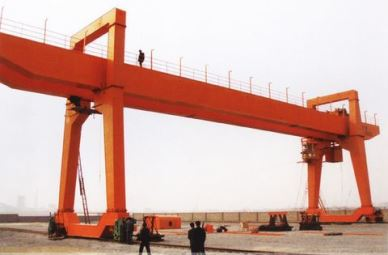 MG Type 50 Ton Mobile Double Beam Gantry Crane In Pakistan