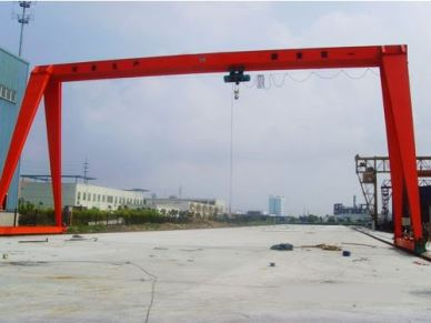 MH Outdoor Electric Hoist Gantry Crane 2 Tons