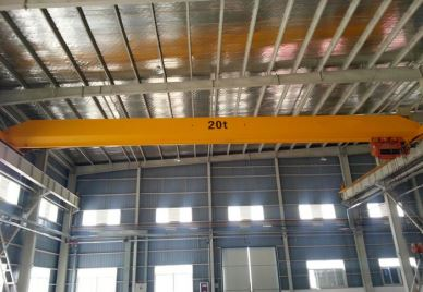 New Wireless Remote Control Single Girder Overhead Crane 3 T Price
