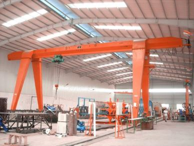 Outdoor MH Type Single Girder Hook Gantry Crane