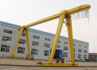 Outdoor Remote Control Gantry Crane 20 Ton