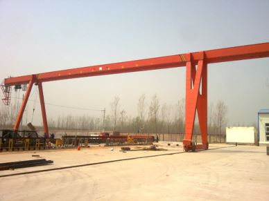 Outdoor Single Girder Gantry Crane 32Ton