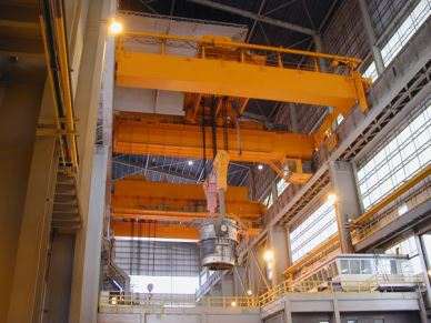 PLC Control Available Heat Casting Overhead Crane