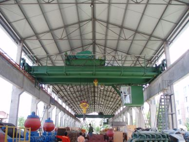 QD Steel Mill Workshop 30T Overhead Crane