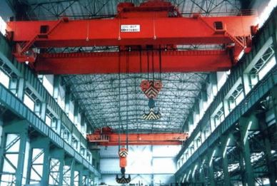 QD Steel Plant Over Head Crane 50 Ton