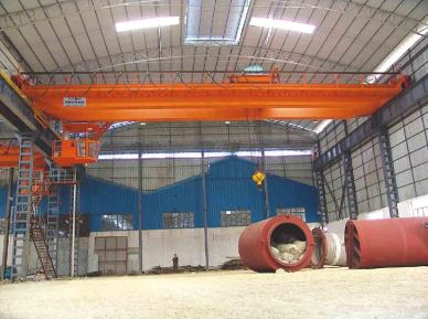 QD Warehouse Bridge Crane 55 Ton
