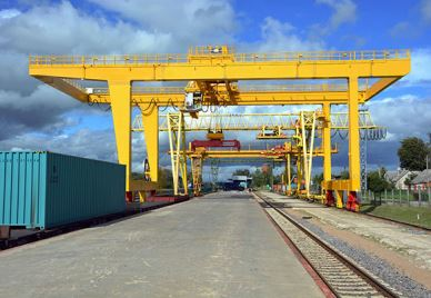 Rail Mounted Container Goliath Crane