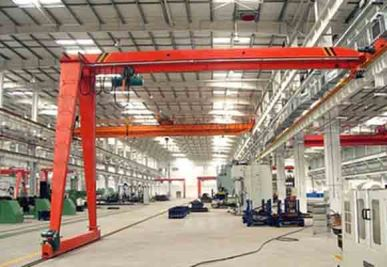 Semi Single Girder Gantry Crane
