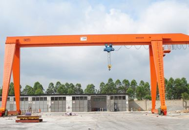 Single Girder Door Crane
