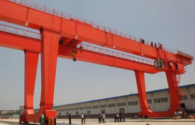 U Model Heavy Duty Gantry Crane 100 Ton ,300 Ton, 500 Ton With Hook