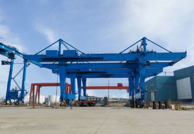 Upper Rail-type Container Gantry Crane