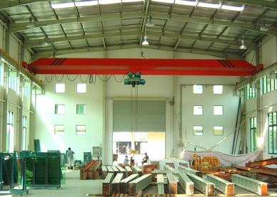Workshop Electric Single Beam 5Ton Overhead Crane For Sale